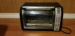 Black And Decker Toaster Oven For Sale.