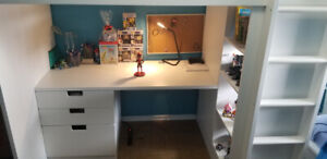 IKEA Stuva loft bed, mattress included - excellent condition!