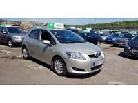 2008 TOYOTA AURIS TR 1.6 VVT-I 90K 1 PREVIOUS LADY OWNER++2 KEYS+12 MONTHS M.O.T
