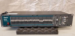 Ashly GQX 3101 Single Channel 32 band Graphic EQ