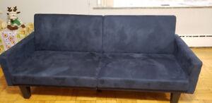 Clements convertible sofa - Blue
