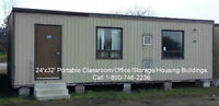 24'x32' Portable Building only $14,500 Delivered!