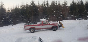86 Ford plow truck 302 efi,  4x4 yard truck only.