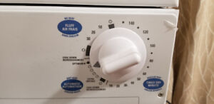 GE Spacemaker 110v apartment size dryer like new