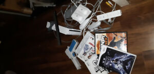 Wii game and accessories