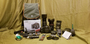 Camera Canon EOS 5D mark I package