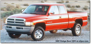 **WANTED** Dodge Ram 2500 Pickup V10, Manual, RWD