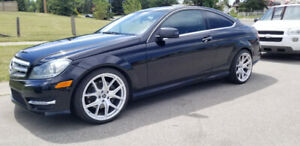 2012 Mercedes c350 coupe 4 matic