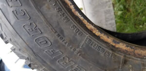 4 studded winter tires - Sold PPU