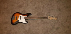 Squire 5 String Jazz Bass