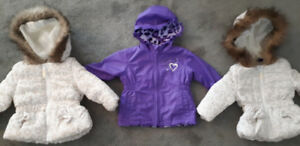 12-18 month girl's fall/spring coats- EUC