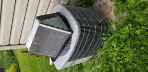 AC unit with coil