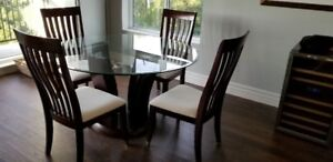Condo dinning room Table set