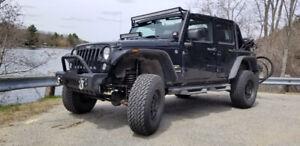 **TRÈS RARE!**2014 Jeep WRANGLER SAHARA UNLIMITED 4 PORTES