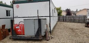 Office Trailer with Genset and Bathroom