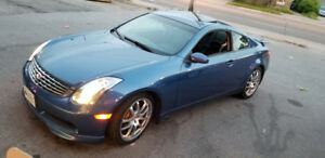 Inifinity g35 2005 coupe great cond LOWKM NO RUST CLEAN&FAST!!!