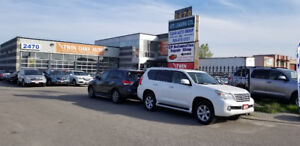USED CAR RETAIL LOT  OMVIC APPROVED FOR LEASE.