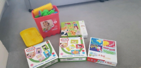 Toy, magnet and puzzle bundle
