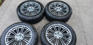 "Original BMW Approved Wheel Winter Package  (Wheel 18"" & Rims)"