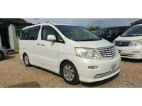 TOYOTA ALPHARD 2 BERTH CAMPERVAN WITH ROCK & ROLL BED