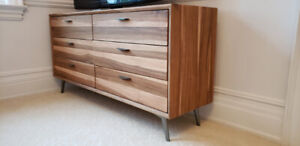 Beautiful wood 6-drawer dresser from STRUCTUBE