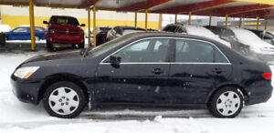 2005 HONDA ACCORD VERY LOW KM EXCILENT CAR CLEAN