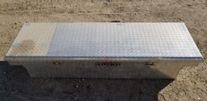 Delta Champion Truck Bed Tool Box ( Chrome checker plate )