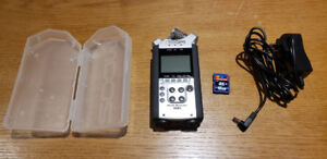 ZOOM H4N Digital Sound Recorder + 16GB Card + AC cable + Case