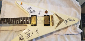 REVERSE FLYING V Gibson Guitar 2007 ! AWESOME!!!!!!!!!!!!!!