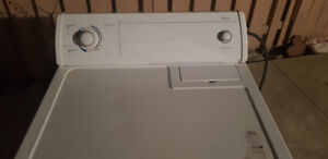 A1 Class and Efficient Whirlpool Washing Machine and Dryer