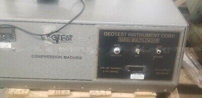 Geotest Instrument Multiloader Soil Concrete Compression Testing Machine S5830a