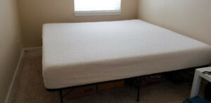 King Size 10 Inch Memory Foam Mattress
