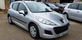 2010 Peugeot 207 FAP S SW 1.6HDi 92 a/c Warranty & Delivery available Px welcome