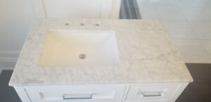 White Vanity 36 inches