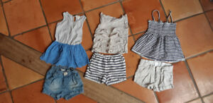Beautiful and Classy Girls Summer Clothes 2-4 years