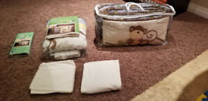 Baby bedding for sale.