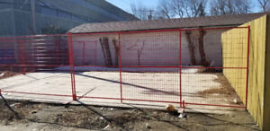 construction safety metal fence panels for sale