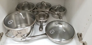 Lagostina 12 Piece Stainless Steel Cookware Set