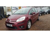 Citroen C4 Picasso 1.6 HDi 110hp VTR+ (red) 2008