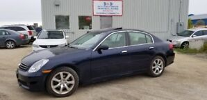 2005 Infiniti G35x Luxury,AWD,ONLY 96KMS,SUNROOF,LEATHER