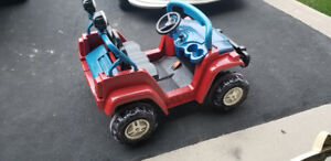 Electric toy car $150