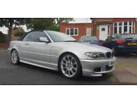 BMW 320CD 2005 MSport CONVERTIBLE 6 SPEED
