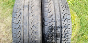 2x Pirelli P4 four Seasons Plus 205/55R16
