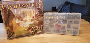 Sid Meier's Civilization + ses 2 extensions (Board game)