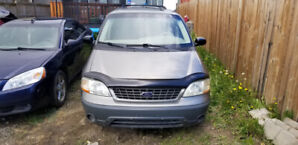 2002 Windstar and 2008 G6 $1800 You take both