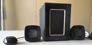 Philips 2.1 Speakers with subwoofer