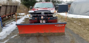 2009 Dodge Ram with Plow