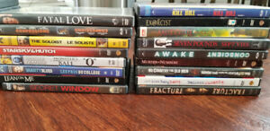 Dvds 2.00 each or 50 dollars for all 33