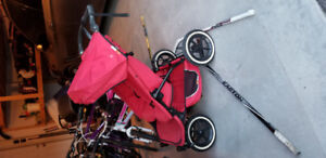 PHIL & TEDS side by side double jogging stroller