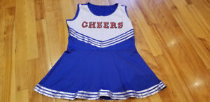 Cheer Leader Costume for Girl in size 10-12, for only $10
